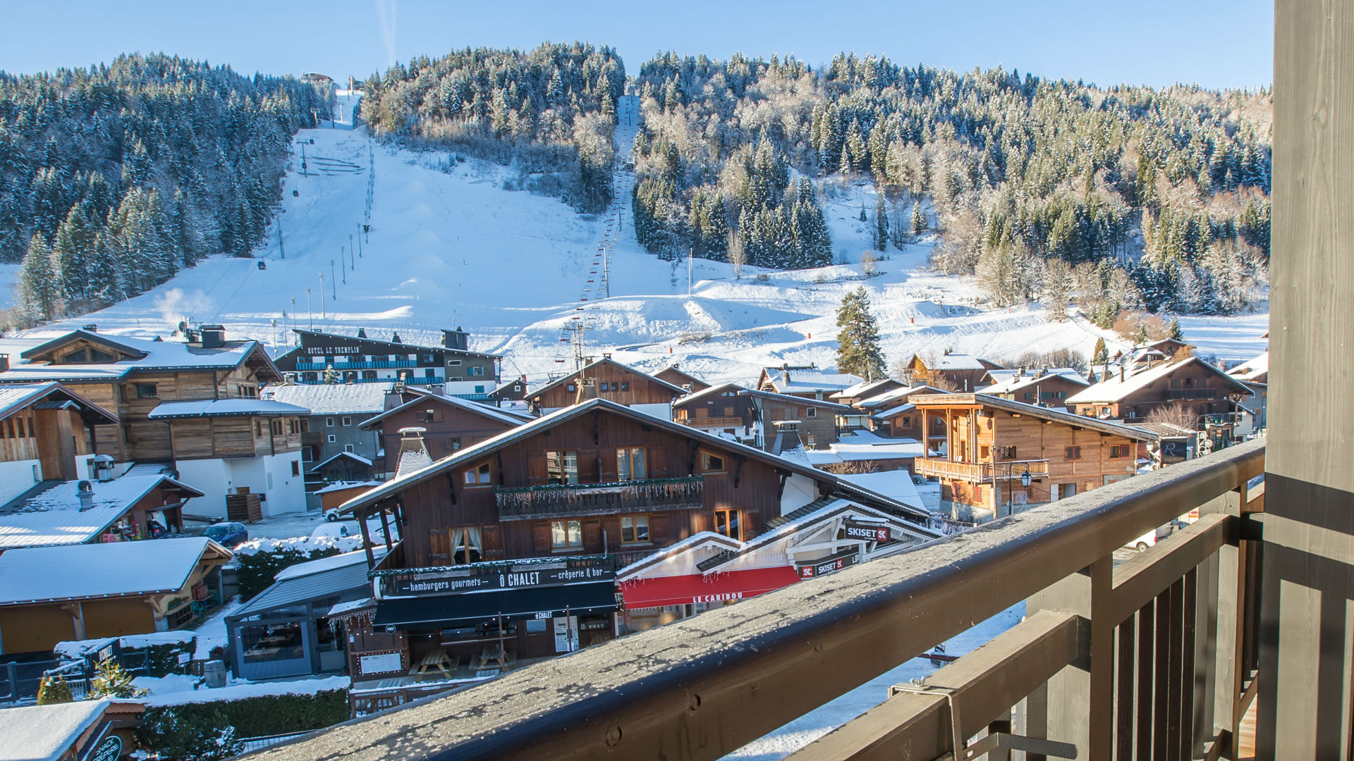 View From Chalet Chouette, Morzine
