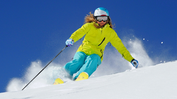 Skiing in the Portes du Soleil