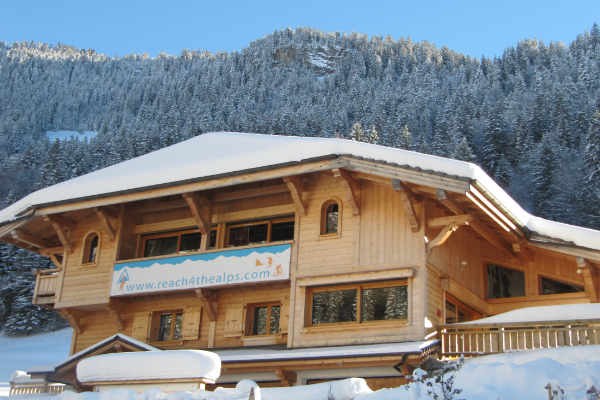 Luxury catered chalets with Reach4thealps
