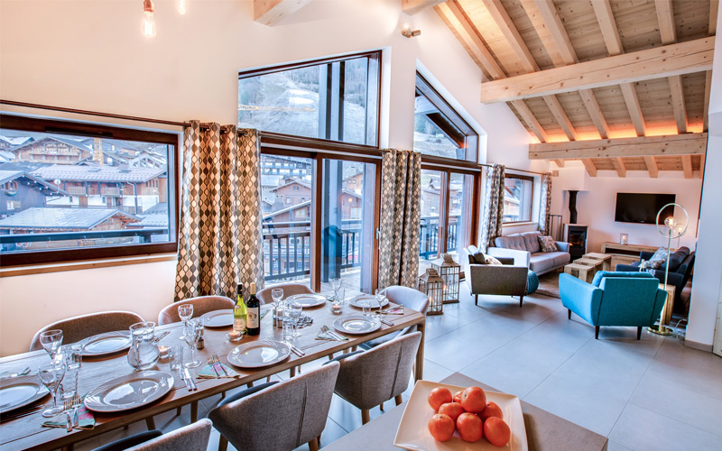 Winter Catered Chalets in Morzine and Les Gets