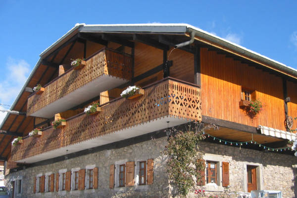 Chalet Sol Re, selection of small apartments