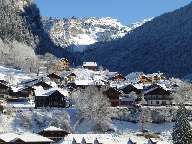 Morzine, Winter