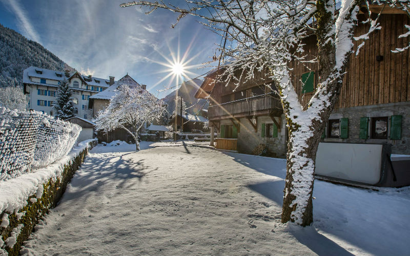 Christmas in Morzine or Les Gets