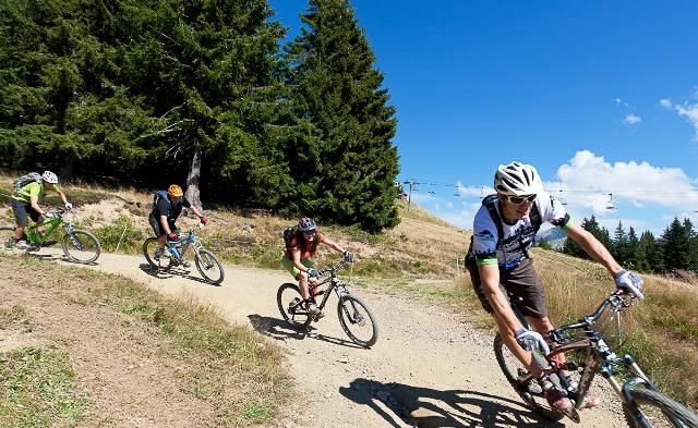 Mountain Biking, Portes Du Soleil