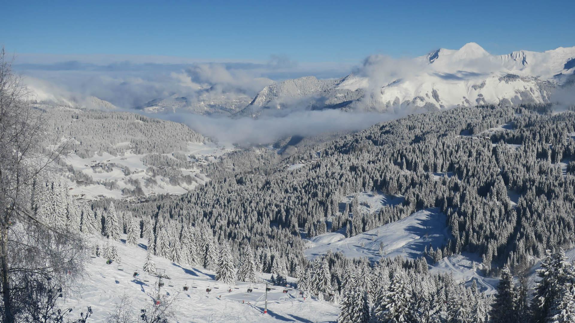 The Portes Du Soleil Ski Area